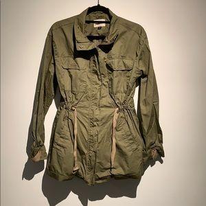 Universal Threads Green Drawstring Jacket